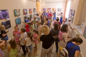 Фото выставки «Ангелы, к которым можно прикоснуться» в Феодосии #3861