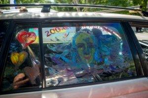 Фото автопробега и конкурс рисунков на авто в День города #1351