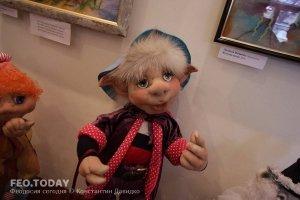 Выставка кукол. Музей Грина #7554