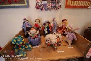 Выставка кукол. Музей Грина #7555