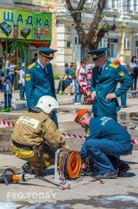 День пожарной охраны в Феодосии #8777