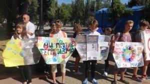 Фото митинга в Феодосии в память о жертвах терактов #3338