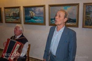 Открытие выставки «Морской пейзаж» в музее Грина #8068