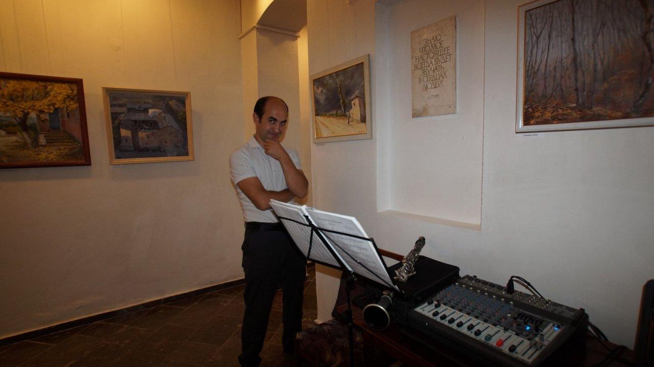 Фото открытия выставки Юшиной в музее ГРИНА #3400