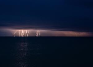Молния в Феодосии #15468