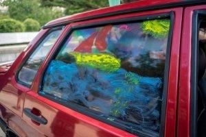 Фото автопробега и конкурс рисунков на авто в День города #1350
