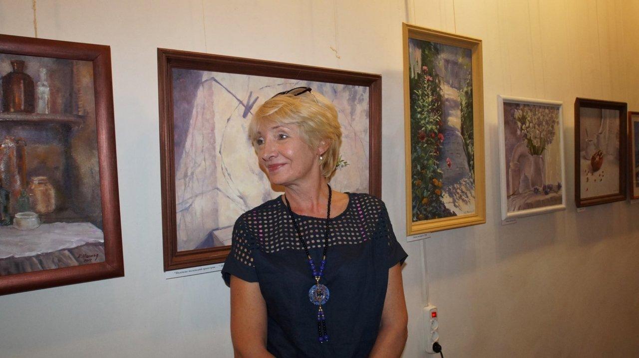 Фото открытия выставки Юшиной в музее ГРИНА #3393