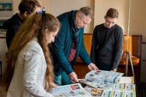 Презентация «Школьной Газеты» в Феодосии #6982