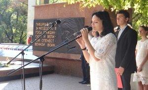 Фото митинга в Феодосии в память о жертвах терактов #3343