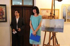 Фото открытия выставки «Море и любовь не терпят педантов» в Феодосии #1138