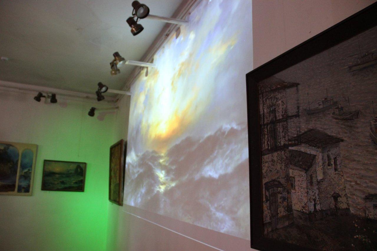 Фото открытия выставки «Море и любовь не терпят педантов» в Феодосии #1150