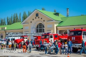 День пожарной охраны в Феодосии #8781