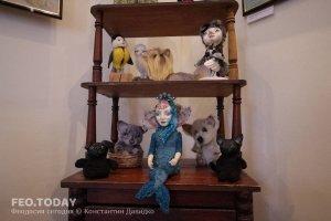 Выставка кукол. Музей Грина #7553