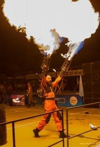 Фото фестиваля «Крым Fire-fest» в Коктебеле #2373