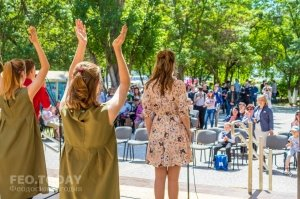 Феодосийский политех поздравил ветеранов с Победой #9708
