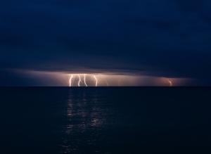 Молния в Феодосии #15456