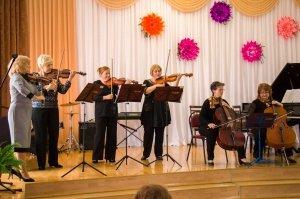 Фото празднования юбилея директора первой музыкальной школы Феодосии #5848