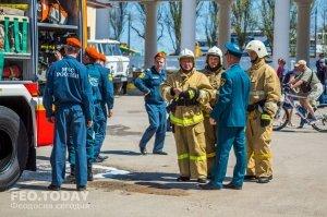 День пожарной охраны в Феодосии #8780