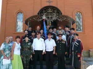 Фото принятия присяги казаками Феодосии в храме Архистратига Михаила #4305