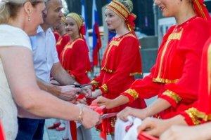 Фото торжественного открытия Доски почета в Феодосии #1067