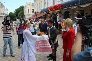 Фото итальянской делегации в Феодосии #214