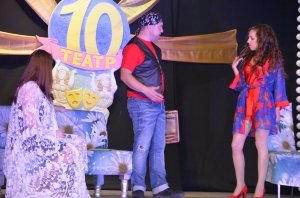 Фото юбилейного представления Феодосийского театра драмы и музкомедии #5780