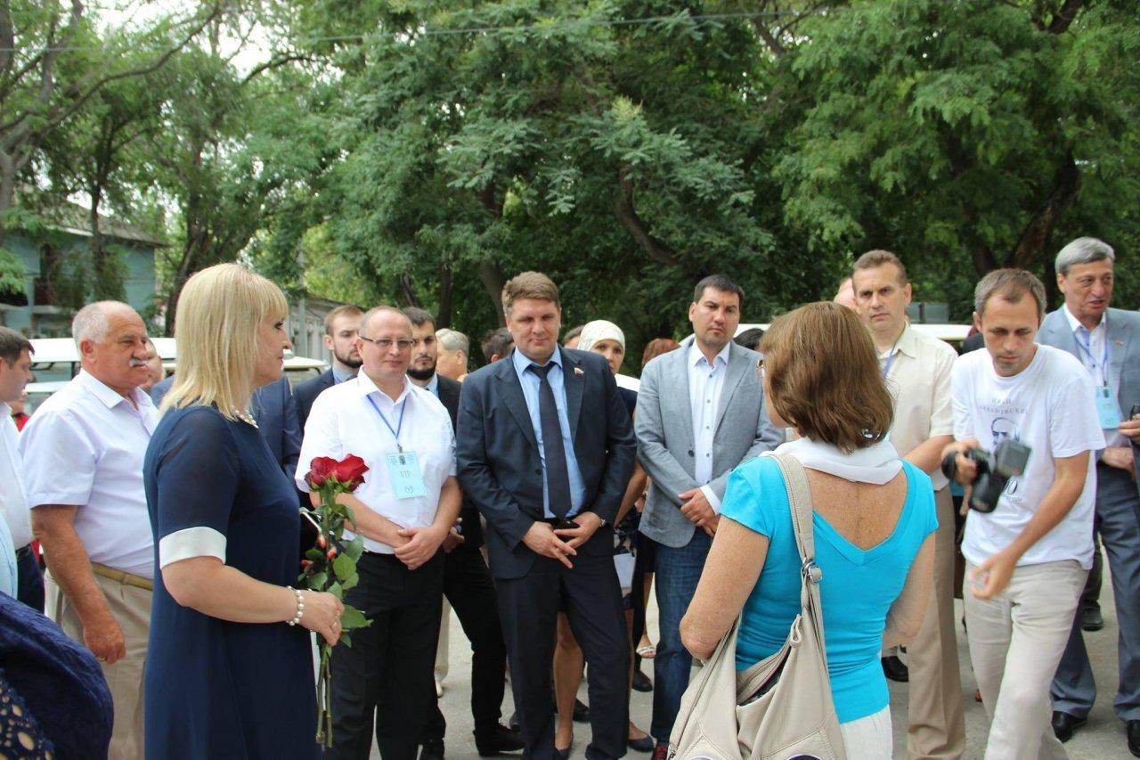 Фото почетных гостей на День города и юбилей Айвазовского в Феодосии #1112