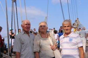 Фото парусного судна «Херсонес» в Феодосии #1195