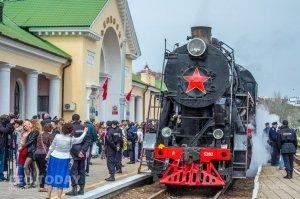 «Поезд Победы — 2018» в Феодосии #8201