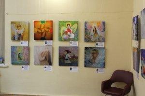 Фото выставки «Ангелы, к которым можно прикоснуться» в Феодосии #3878
