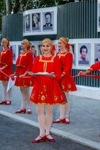 Фото торжественного открытия Доски почета в Феодосии #1065
