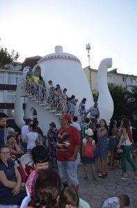 Фото открытия «Замка чая» в Феодосии #310
