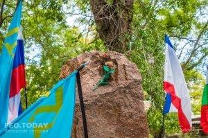 В Феодосии почтили память жертв депортации крымских татар #10883