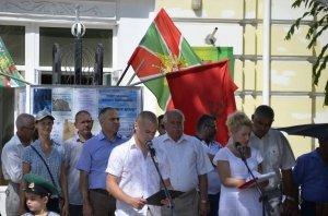 Фото праздника в честь зеленой фуражки в Феодосии #125