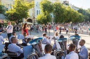 Фестиваль военных оркестров в Феодосии #12791