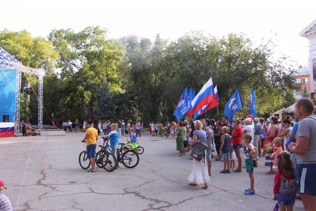 Фото празднования Дня флага России в Феодосии #2886