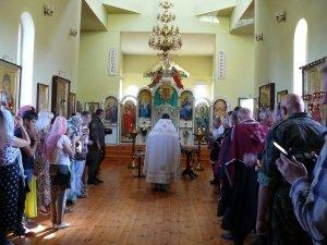 Фото принятия присяги казаками Феодосии в храме Архистратига Михаила #4297