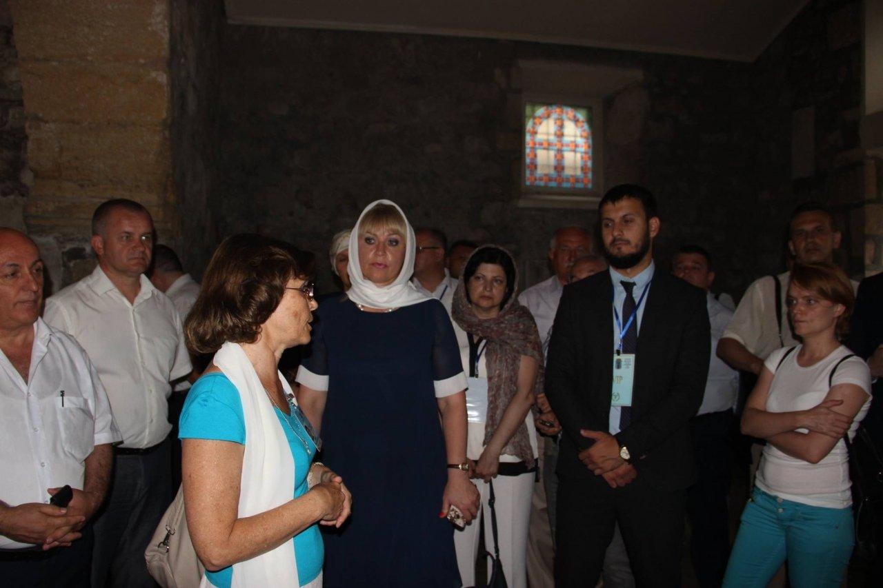 Фото почетных гостей на День города и юбилей Айвазовского в Феодосии #1102