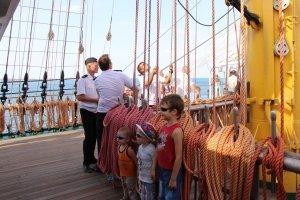 Фото парусного судна «Херсонес» в Феодосии #1190