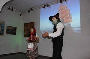 Фото открытия выставки «Море и любовь не терпят педантов» в Феодосии #1140