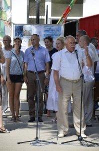 Фото праздника в честь зеленой фуражки в Феодосии #126