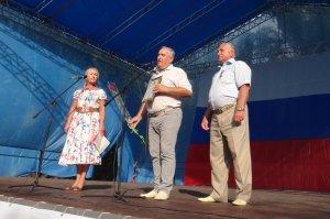 Фото празднования Дня флага России в Феодосии #2916