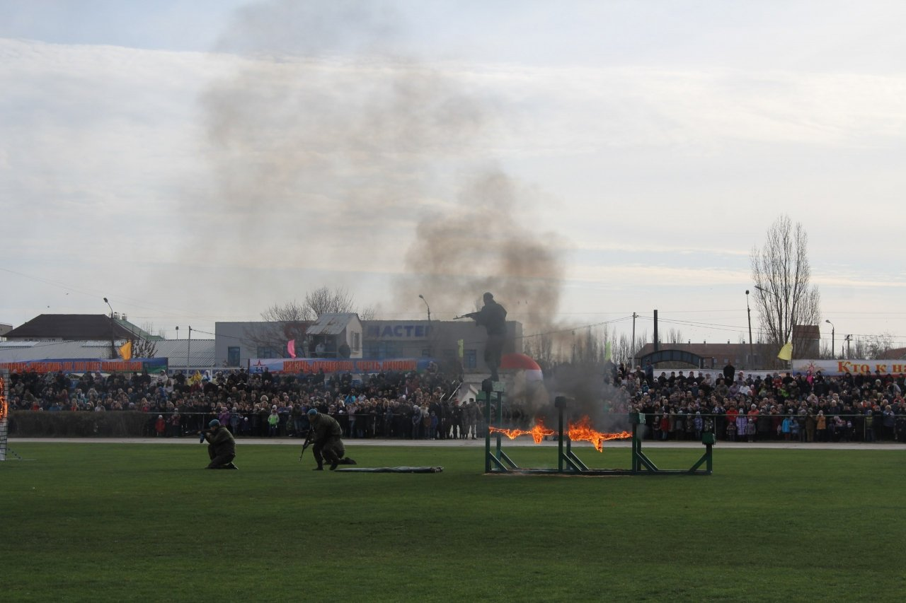 Фото торжественного открытия десантного батальона в Феодосии #5935