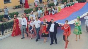 День Государственного флага в Феодосии #13904