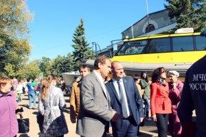 Открытие памятника корабелам, Приморский #14290