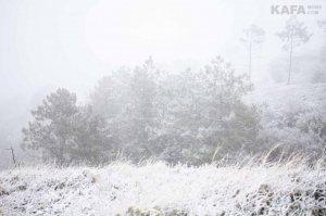 Первый снег в Феодосии #14533