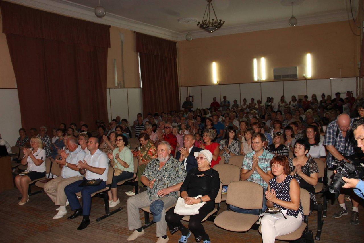 Фото торжественного мероприятия ко Дню герба и флага Республики Крым #4284