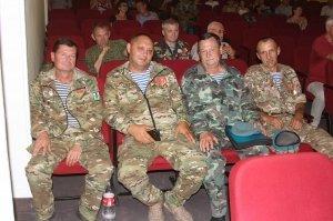 Фото празднования 30-летия Союза ветеранов Афганистана в Феодосии #2543