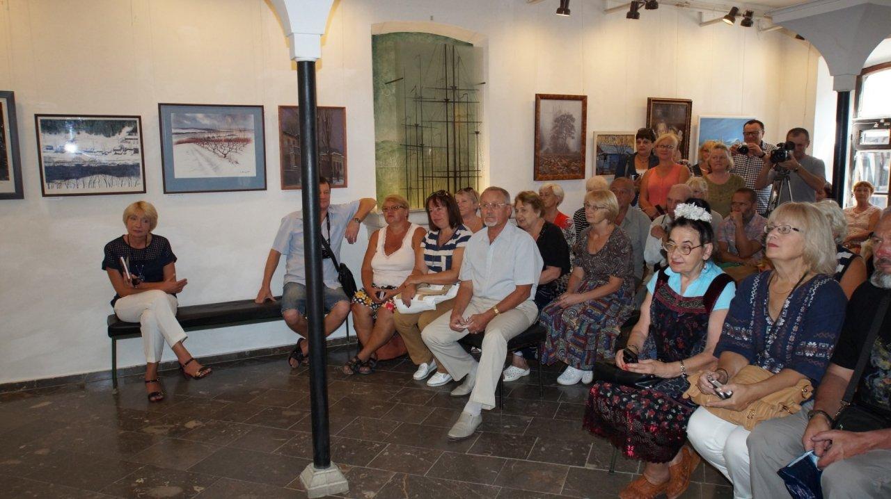 Фото открытия выставки Юшиной в музее ГРИНА #3395