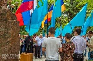 В Феодосии почтили память жертв депортации крымских татар #10871
